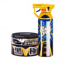 Комплект Soft99 Set Extreme Gloss Wax Kiwami Dark + Rain Drop Bazooka