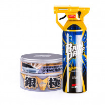 Комплект Soft99 Set Extreme Gloss Wax Kiwami Light + Rain Drop Bazooka