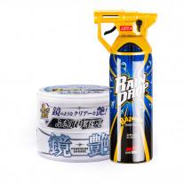 Комплект Soft99 Set Mirror Shine Wax Light + Rain Drop Bazooka