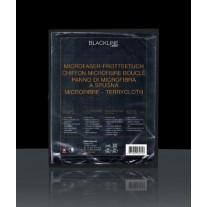 Микрофибровая салфетка Riwax® черная 40x40 см - превосходная абсорбция
