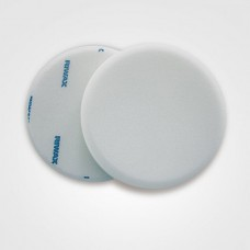 Riwax® Buffing Pad, White, Medium, Single Sided, Velcro, 175x30MM, 11571-M
