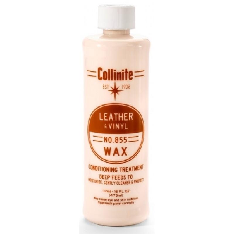 leather & vinyl wax