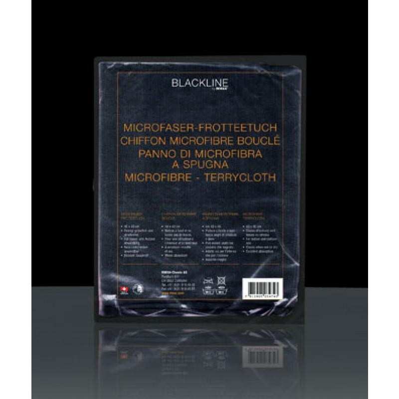 Blackling microfibre towel for waterless car wash