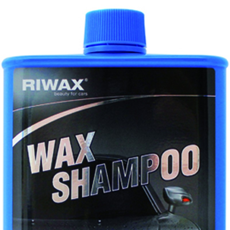 Wax shampoo for manual car wash