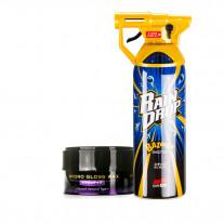 Soft99 Set Hydro Gloss Wax - Scratch Removal Type + Rain Drop Bazooka
