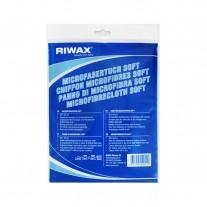 Mikropluošto rankšluostis minkštas Riwax® 40x40 cm