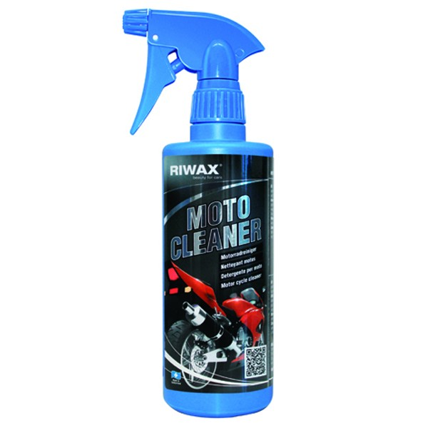 Motorcycle and bike cleaner