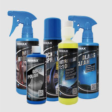 Riwax blue line for car lovers